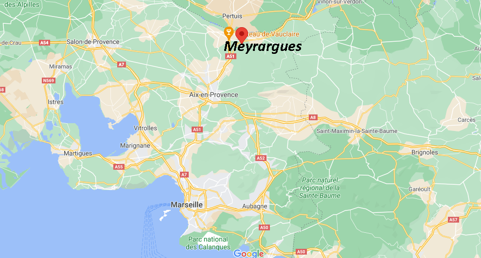 Où se situe Meyrargues (Code postal 13650)