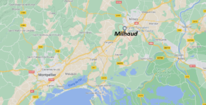 Où se situe Milhaud (Code postal 30540)