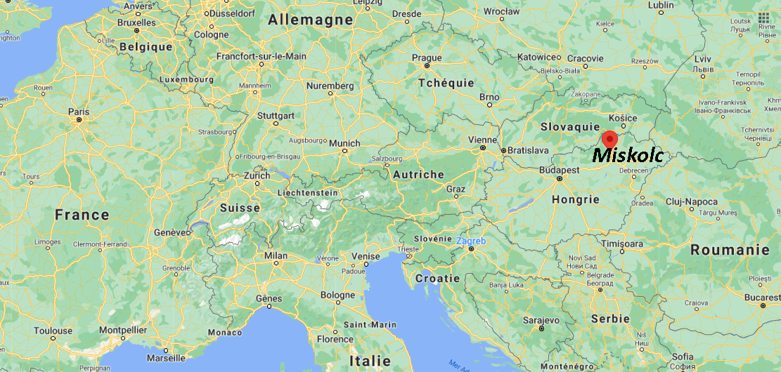 Où se situe Miskolc