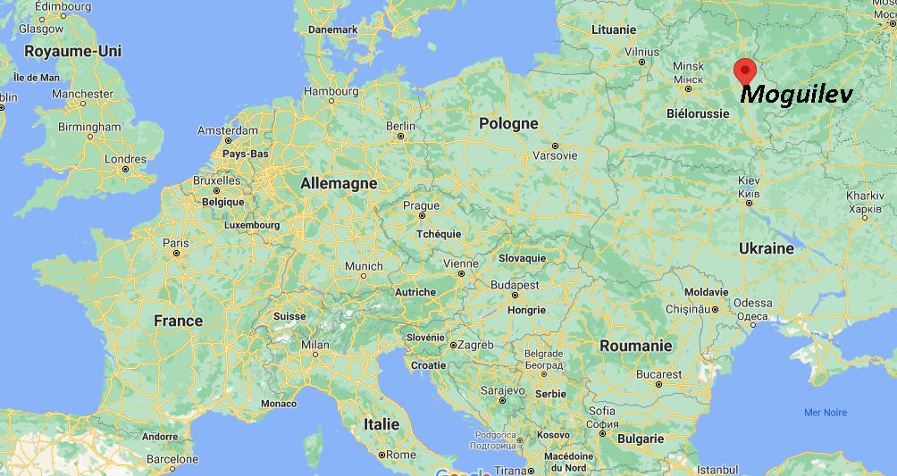 Où se situe Moguilev