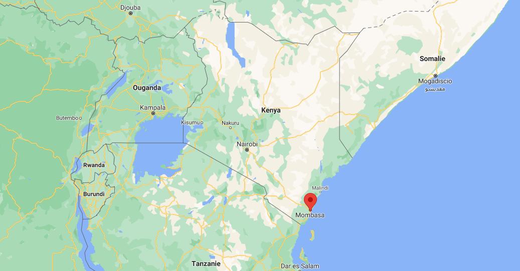 Où se situe Mombasa