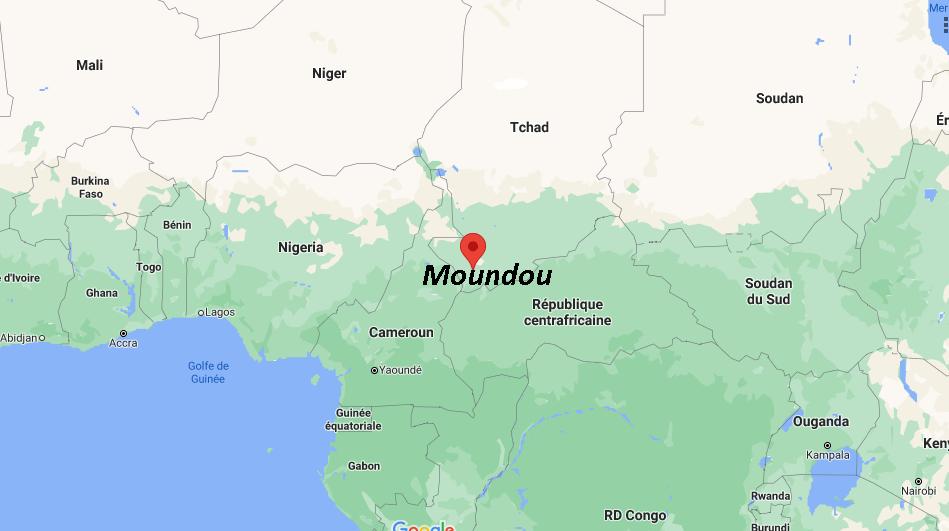 Où se situe Moundou