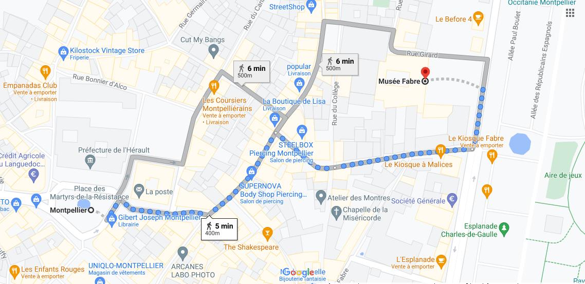 Où se situe Musée Fabre