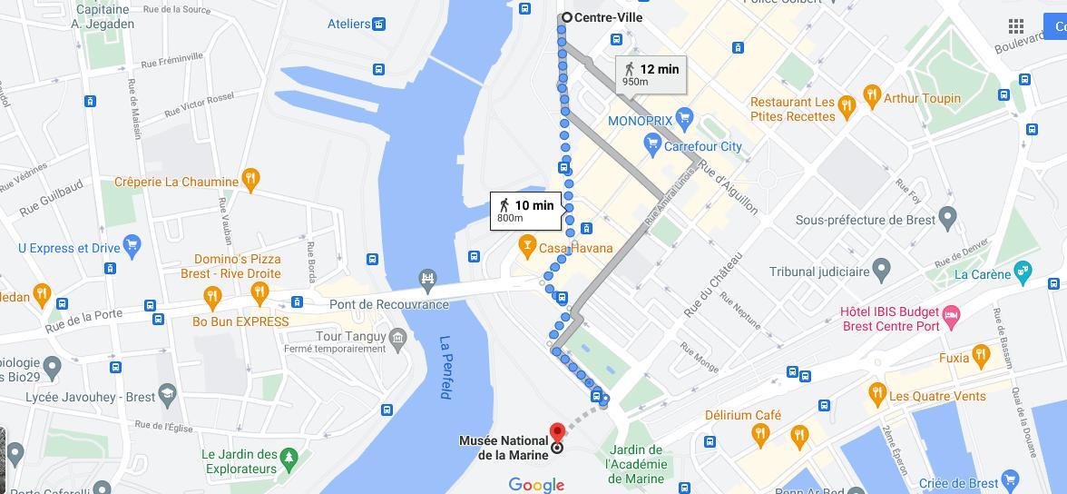 Où se situe Musée national de la Marine