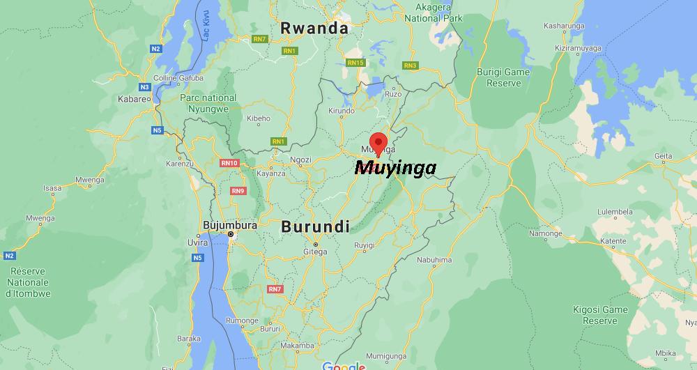 Où se situe Muyinga