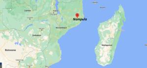 Où se situe Nampula