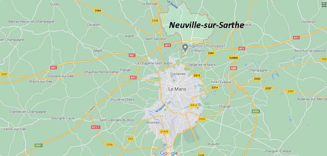 Où se situe Neuville-sur-Sarthe (72190)