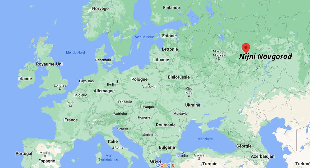 Où se situe Nijni Novgorod