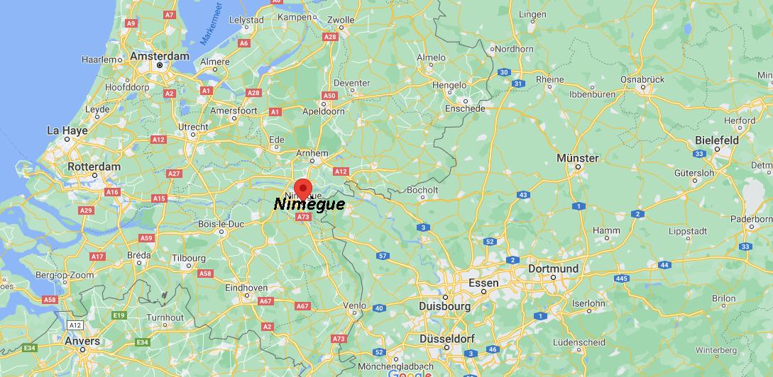 Où se situe Nimègue