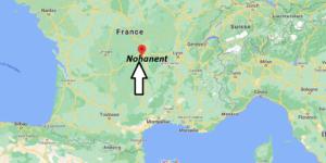 Où se situe Nohanent (Code postal 63830)