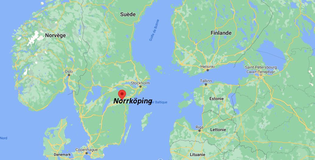 Où se situe Norrköping