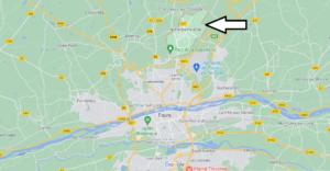 Où se situe Notre-Dame-d'Oé (Code postal 37390)