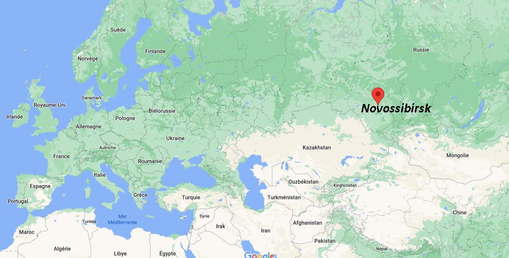 Où se situe Novossibirsk