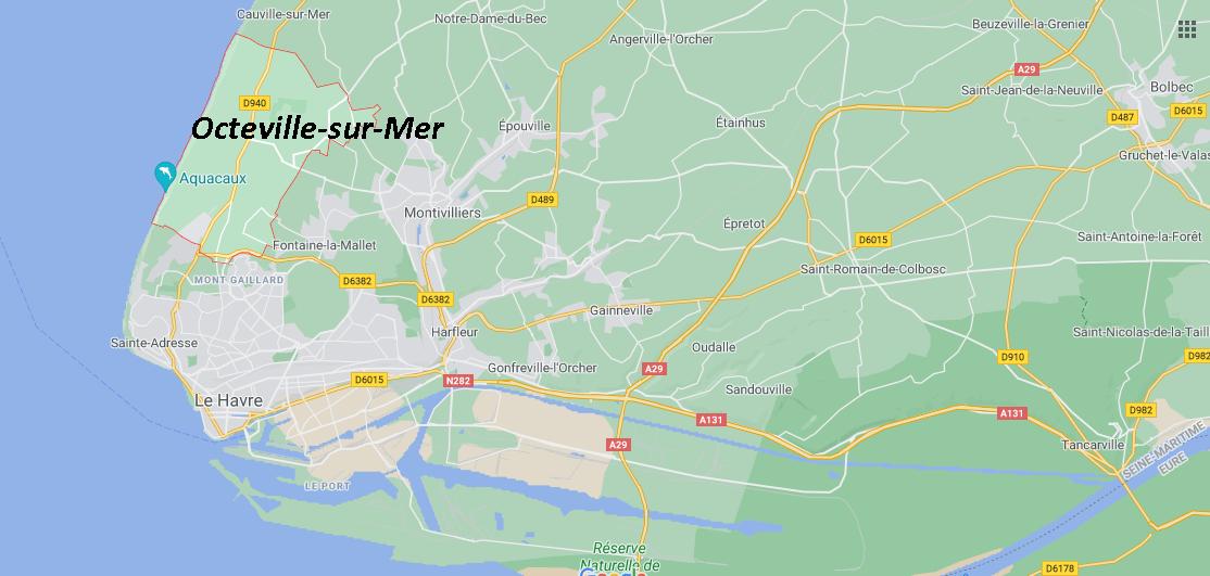 Où se situe Octeville-sur-Mer (76930)