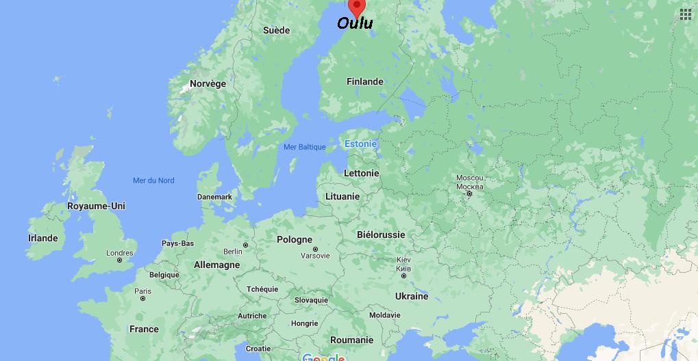 Où se situe Oulu