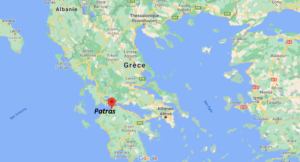 Où se situe Patras