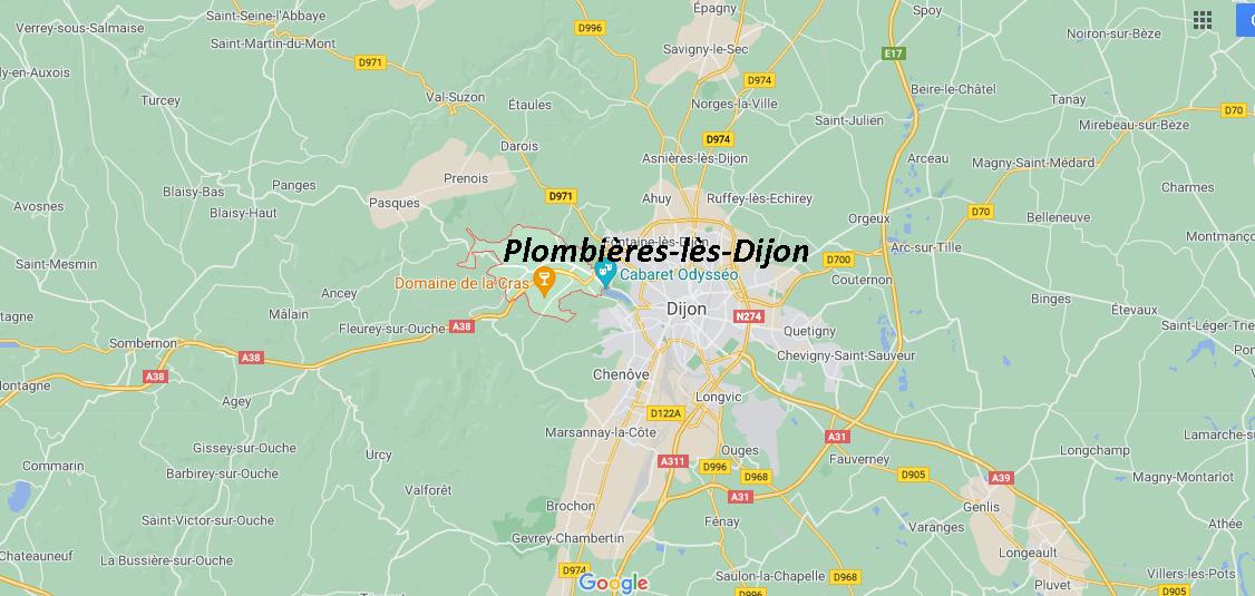 Où se situe Plombières-lès-Dijon (21370)