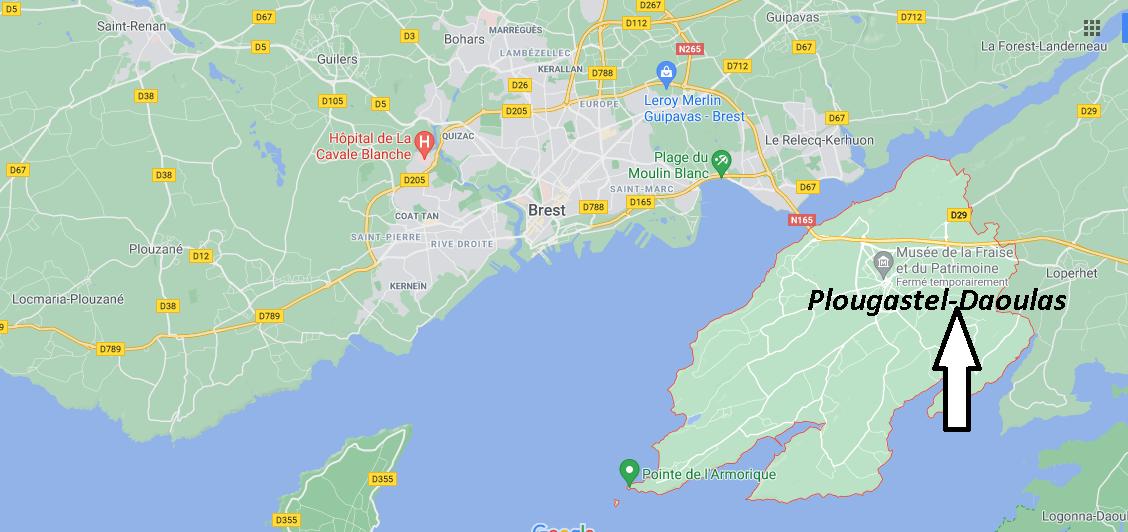 Où se situe Plougastel-Daoulas (29470)