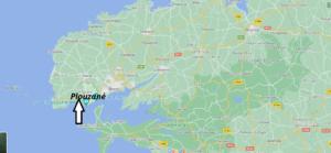 Où se situe Plouzané (29280)
