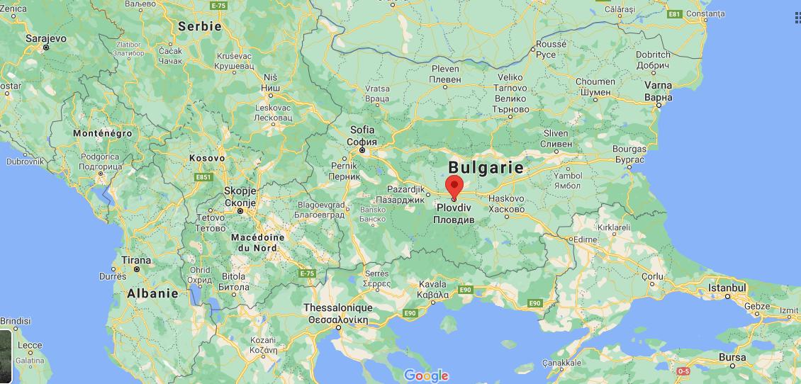 Où se situe Plovdiv