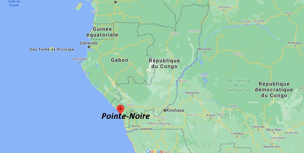 Où se situe Pointe-Noire