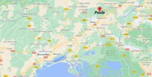 Où se situe Poulx (Code postal 30320)