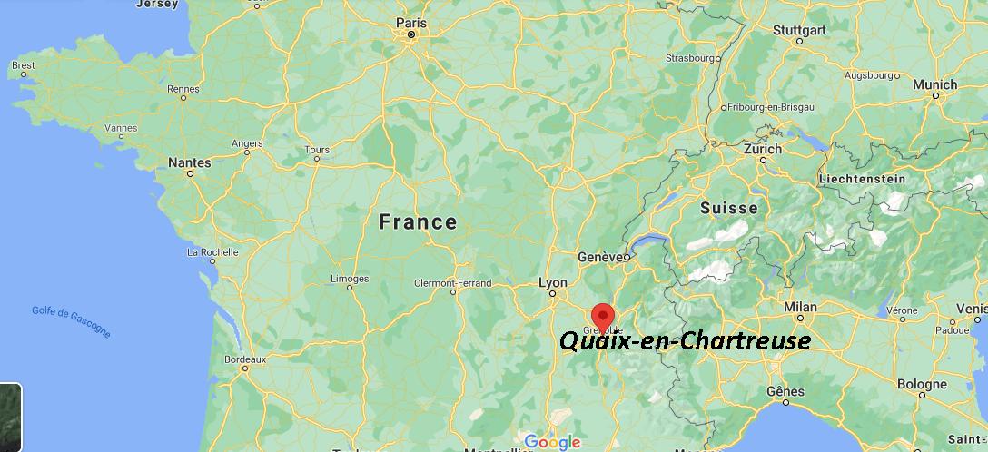 Où se situe Quaix-en-Chartreuse (38950)