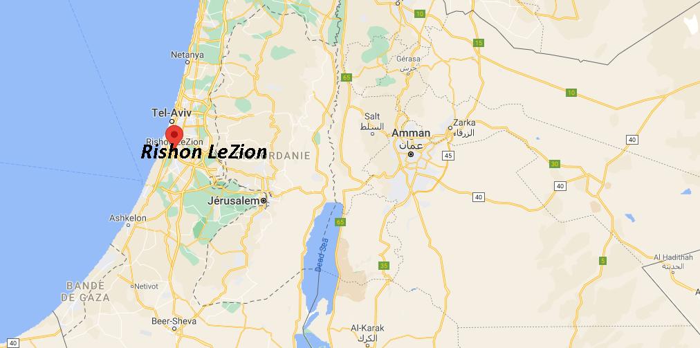 Où se situe Rishon LeZion