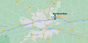 Où se situe Rochecorbon (Code postal 37210)