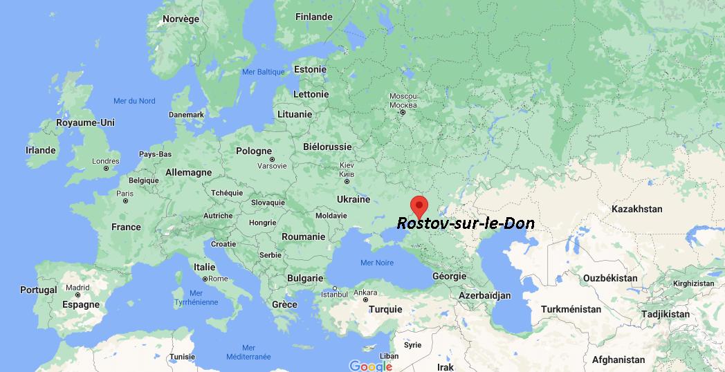 Où se situe Rostov-sur-le-Don
