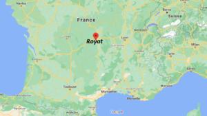 Où se situe Royat (Code postal 63130)