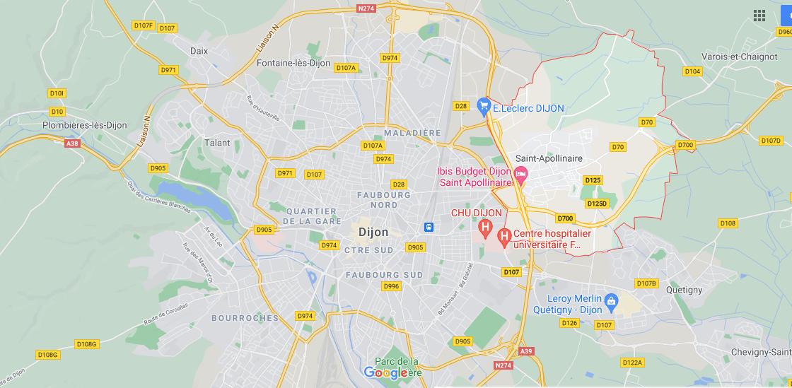 Où se situe Saint-Apollinaire (21850)