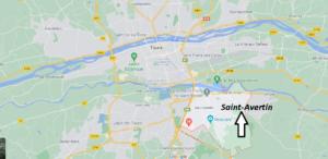 Où se situe Saint-Avertin (Code postal 37550)