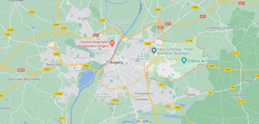 Où se situe Saint-Barthélemy-d-Anjou (49124)