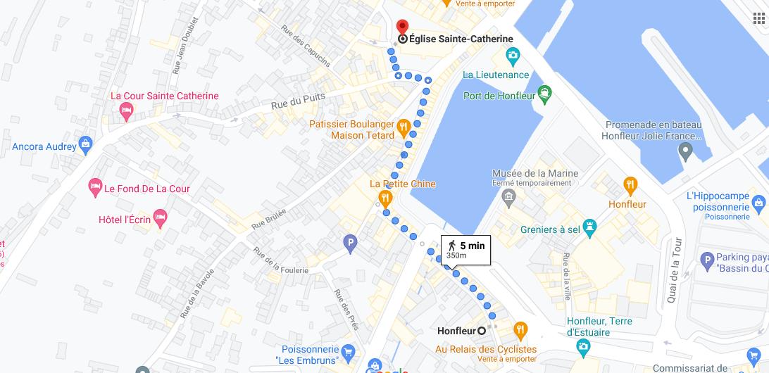 Où se situe Saint Catherine-s Church