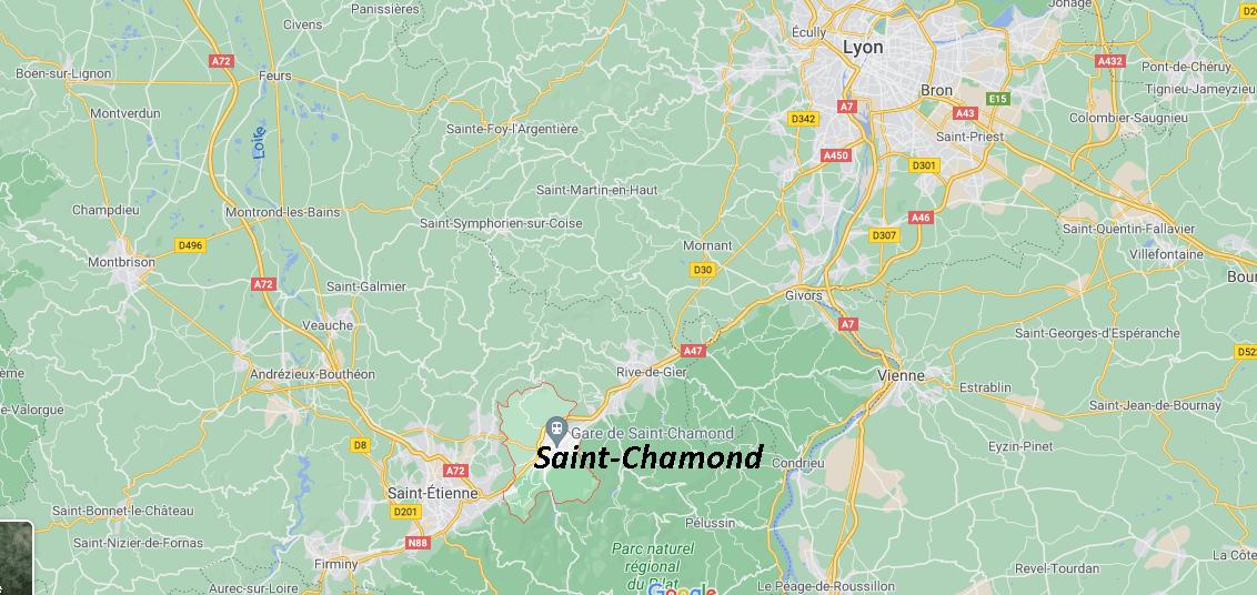 Où se situe Saint-Chamond (42400)