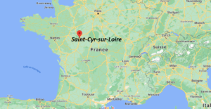 Où se situe Saint-Cyr-sur-Loire (Code postal 37540)