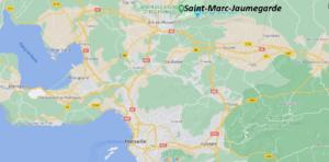 Où se situe Saint-Marc-Jaumegarde (Code postal 13100)