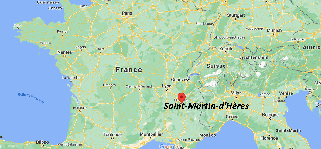 Où se situe Saint-Martin-dHères (Code postal 38400)