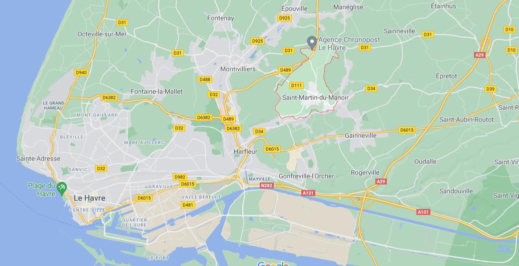 Où se situe Saint-Martin-du-Manoir (76290)