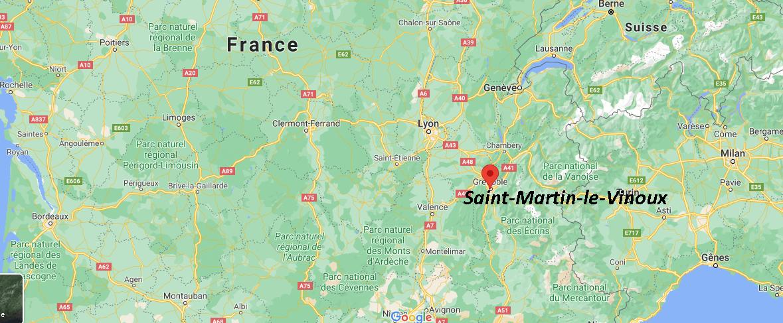 Où se situe Saint-Martin-le-Vinoux (38950)