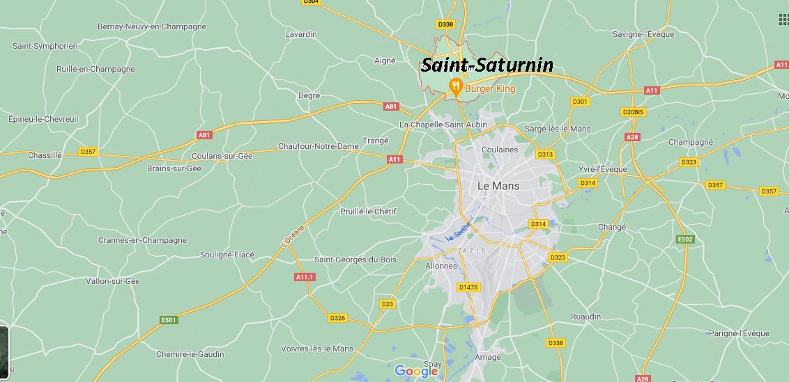 Où se situe Saint-Saturnin (72650)