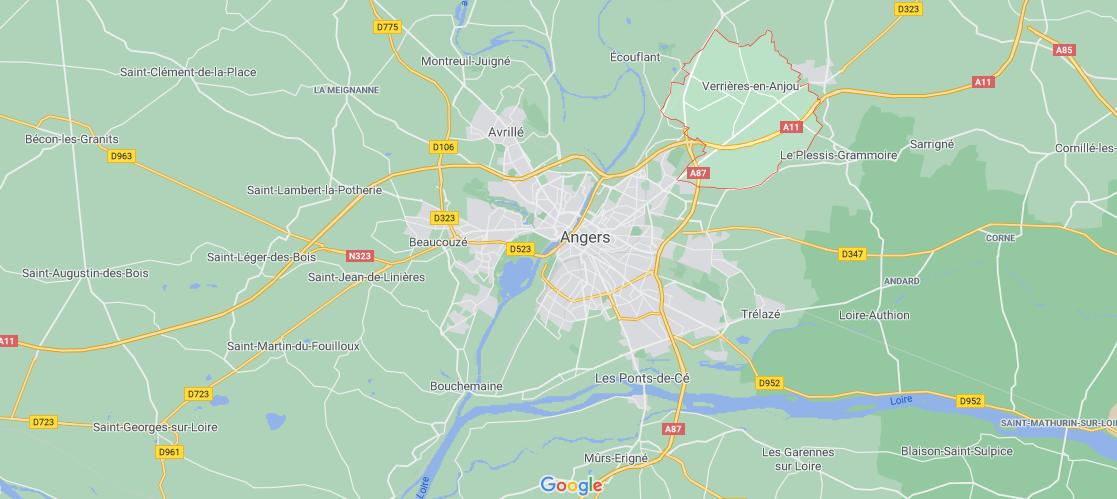 Où se situe Saint-Sylvain-d-Anjou (49480)