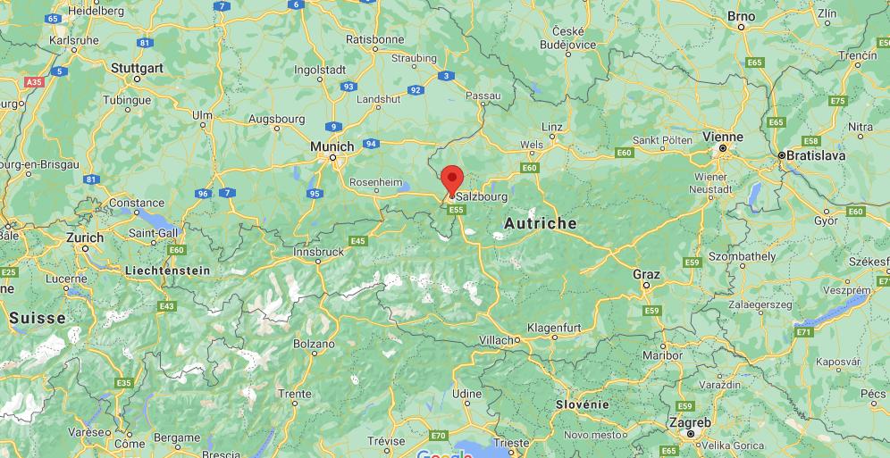 Où se situe Salzbourg