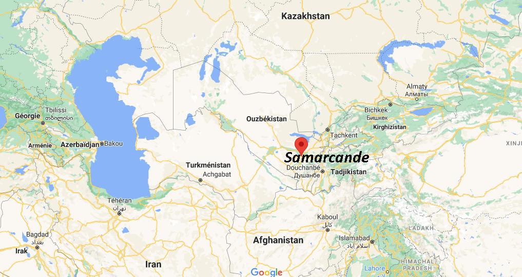Où se situe Samarcande