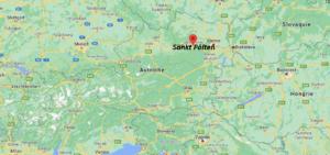 Où se situe Sankt Pölten