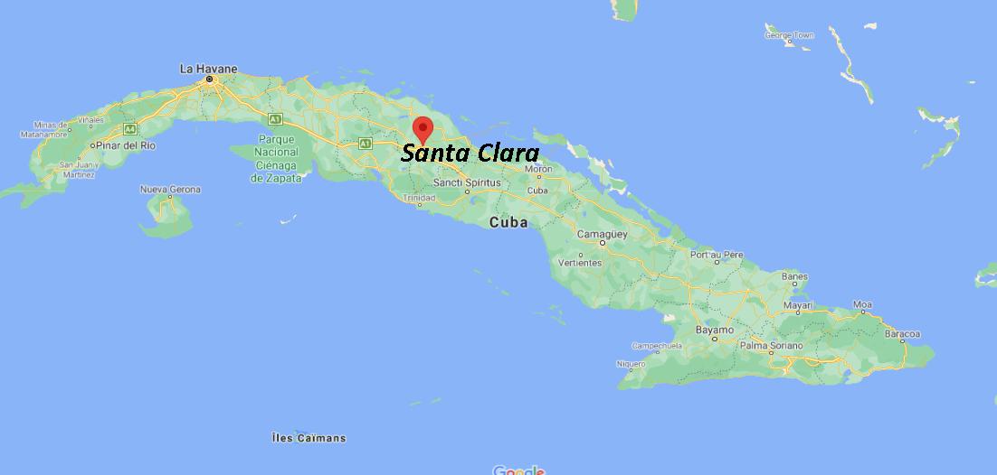 Où se situe Santa Clara