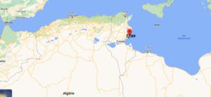 Où se situe Sfax