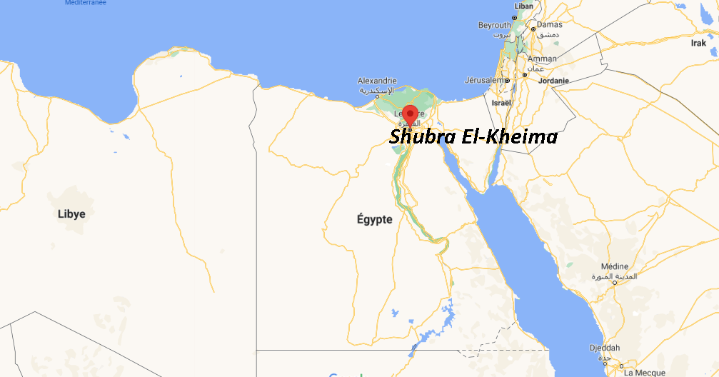Où se situe Shubra El-Kheima