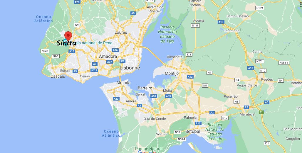 Où se situe Sintra